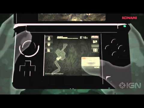 Metal Gear Solid Snake Eater 3D Trailer for the Nintendo 3DS (E3 2011)