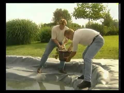 Gardena realizzazione laghetti artificiali linea verde for Vasche vetroresina per laghetti