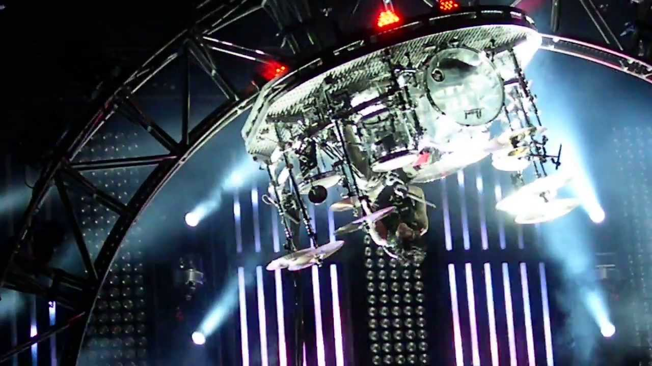 Joey Jordison Drum Solo Upside