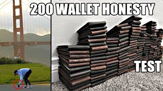 200 dropped wallets- the 20 MOST and LEAST HONEST cities