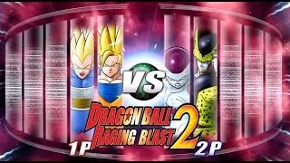 Dragon Ball Z Raging Blast 2 SSJ2 Goku & SSJ2 Vegeta Vs