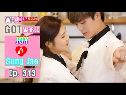 [We got Married4] 우리 결혼했어요 - Sung Jae ♥ Joy Contact Physical affection 20160319