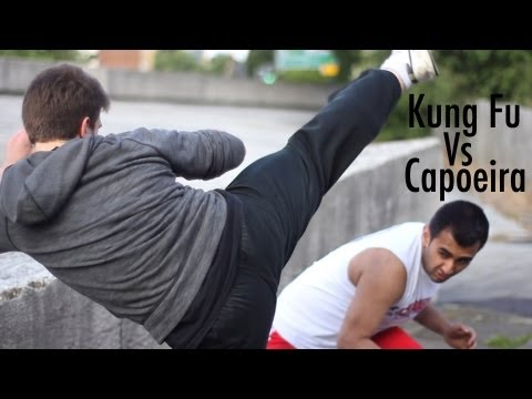 Kung Fu vs Capoeira - Fight Choreography Test - June 2012