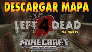 Minecraft Xbox 360 Descargar Mapa Left 4 Dead No Mercy