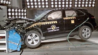 Porsche Cayenne (2018) CRASH TEST. YouCar Car Reviews.