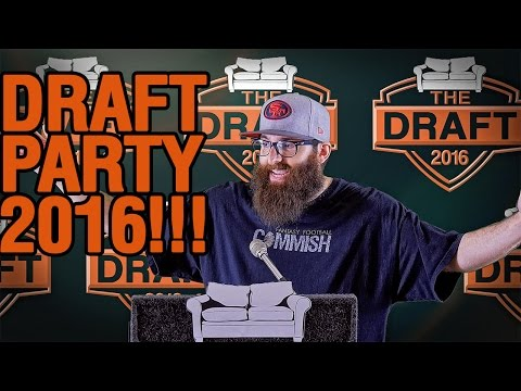 Fantasy Football Draft Results 2016 and Draft Party