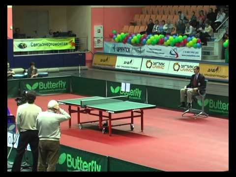 CHAMPIONS LEAGUE.ZORAN PRIMORAC - WANG XI 2 SET