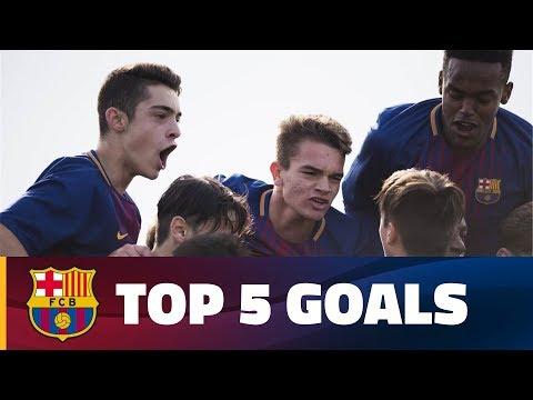 FCB Masia - Academy: Top 5 goals (25 - 26 November)