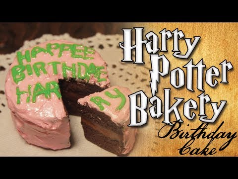 Harry Potter Clay Bakery: Harry's Birthday Cake, harry potter bakery