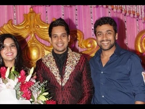 Actor Bharath's wedding reception