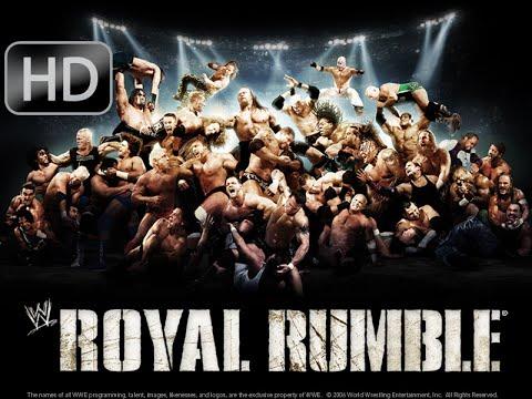 WWE Royal Rumble 2009 The Royal Rumble Match