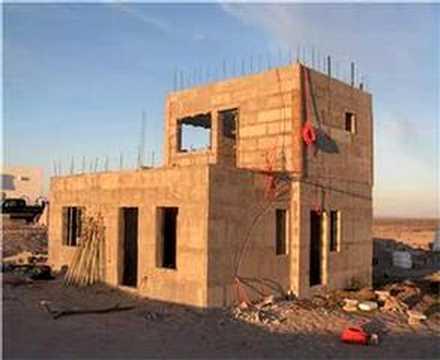Concrete Home Construction In Mexico