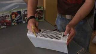 How To Open Xbox 360 Console