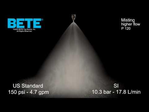 Misting Spray Nozzle: BETE P 120