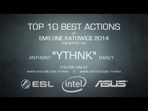 EMS One Katowice 2014 - TOP 10 CS:GO Best Actions