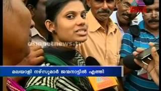 46 Indian Nurses Reach Kochi: Asianet News