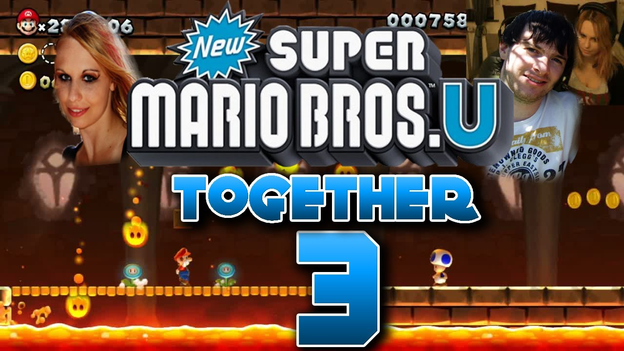 Let S Play Together New Super Mario Bros U Part 3 Youtube