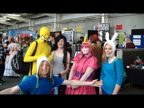 Christchurch Armageddon 2014- Adventure Time Cosplay!!