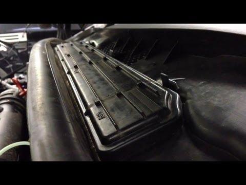 Pollenfilter Im Auto Wechseln Pollen Filter Wechsel Youtube