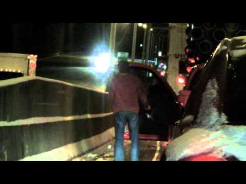 Atlanta: Winter Storm 2014 - Traffic Jam Video Diary