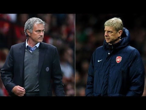 At Last! Mourinho v Wenger Head-To-Head Press Conference