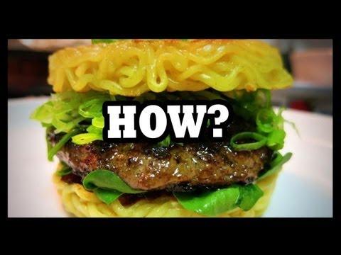 Ramen Burger!?! - The Food Feeder