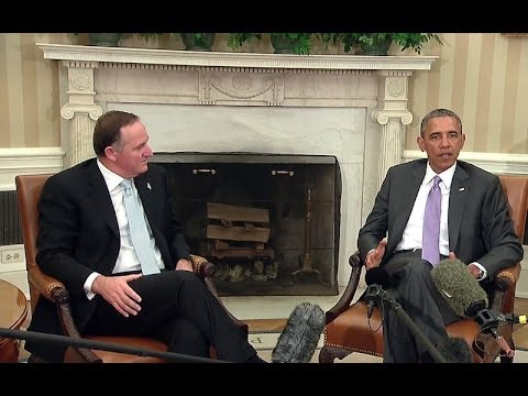 President Obama Meets with Prime Minister John Key