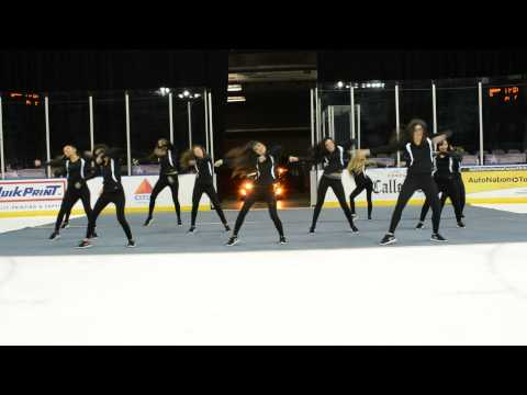 Crush Dancers - Corpus Christi IceRays - Feb. 8, 2014