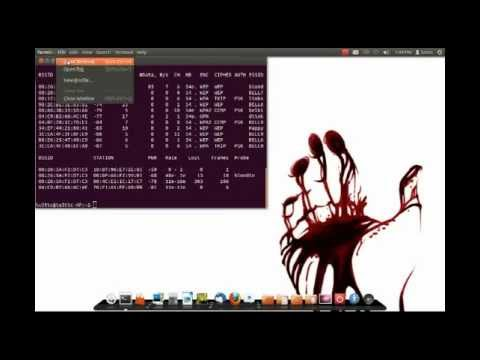 WEP PASSWORD HACK, UBUNTU AIRCRACK-NG - FAST