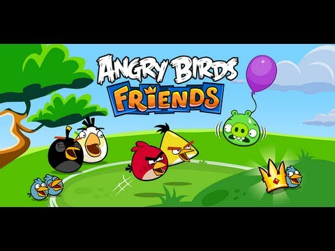 Angry Birds Friends - iPhone/iPod Touch/iPad/Android Gameplay HD, Angry Birds Friends