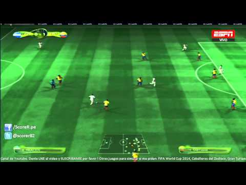 EA SPORTS 2014 FIFA WORLD CUP - Honduras vs Ecuador - Grupo E @ Simulacion PS3