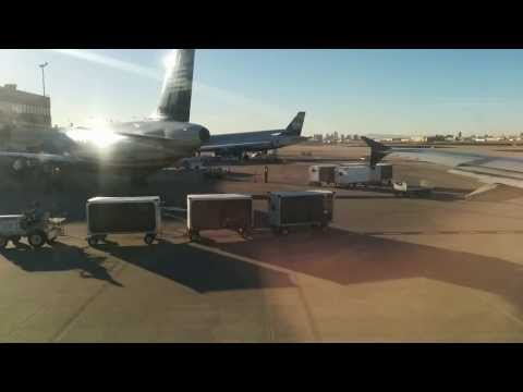 Taxi and Takeoff from Phoenix Sky Harbor International Airport (PHX)