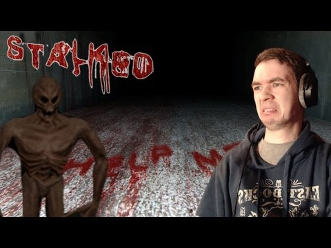 STALKED- NAKED ALIEN JUMPSCARES - Short Indie Horror Game - Commentary/Face cam