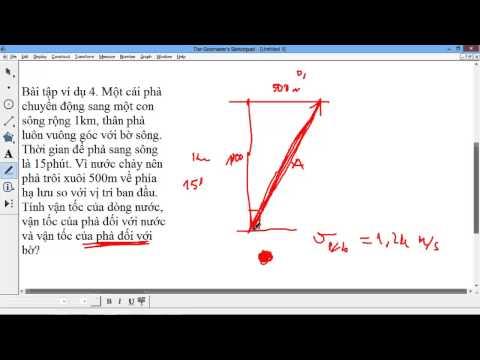[VẬT LÝ 10] Chương 1 Động học chất điểm. Bài 6 Tính tương đối chuyển động (khá khó đó)