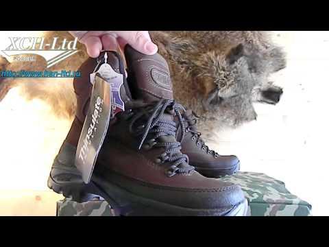 Ботинки «Алтай» (утеплитель Thinsulate 3M) Артикул 558