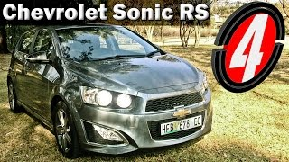 Chevrolet Sonic RS 2014 New Car Review