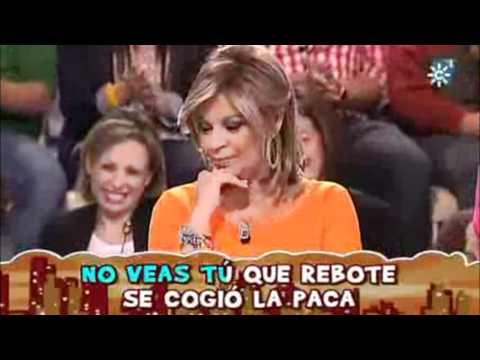 Alejandro le canta a Terelu Campos en Menuda Noche
