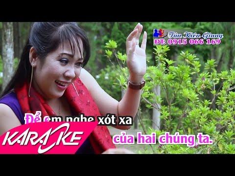 Chút Kỷ Niệm Buồn Karaoke - Diệu Thắm   Nhạc Vàng Trữ Tình Full Beat HD