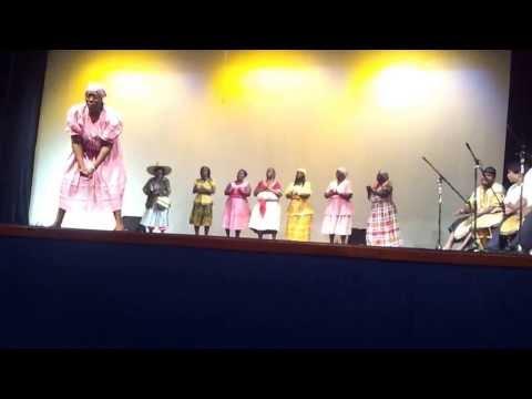 Garifuna Choir Chumba Dance at Variety Show at the Bliss