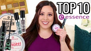 TOP 10 BEST ESSENCE PRODUCTS 2018! UNDER $5 😍