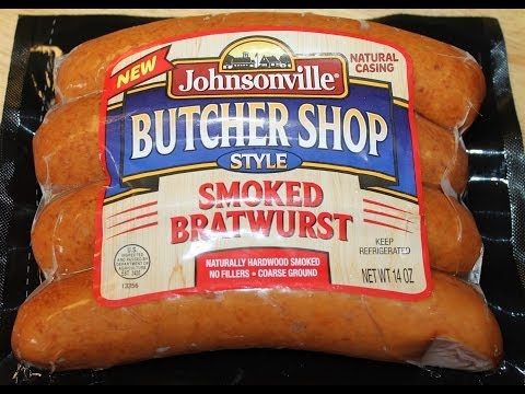 Johnsonville Butcher Shop Style: Smoked Bratwurst