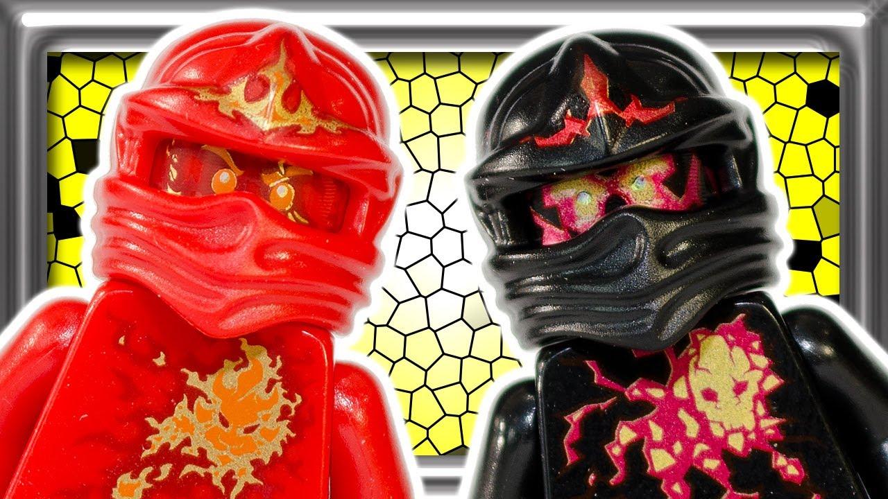 lego ninjago nrg cole and kai build review 9591 9569 9572