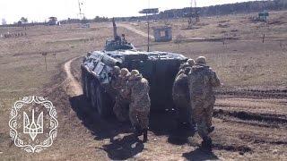 Практичні заняття у складі механізованого відділення на військовому полігоні ЗСУ