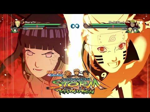 Naruto Storm Revolution PC - ALL TEAM ULTIMATE JUTSU'S (ENGLISH DUB)