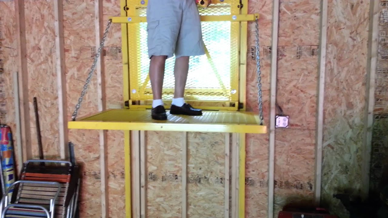 barn elevator lift youtube