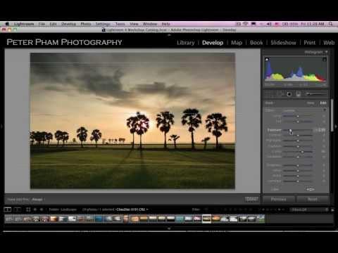 Học Lightroom 4 - 038 Xử lý hình phong cảnh 2