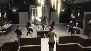 GTA V Asalto Joyería El Trabajo De La Joyeria Grand Theft
