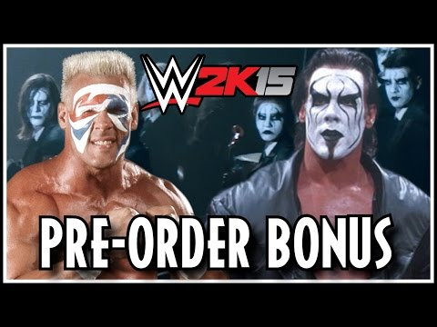 WWE 2K15 - Sting Officially Announced! Pre-Order Bonus Details! (WWE 2K15 STING 07.14.14)