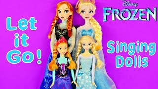 "NEW Frozen Singing Elsa And Anna Let It Go 16"" Giant Light"