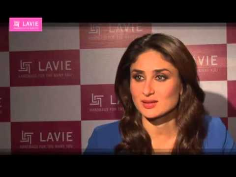 KAREENA KAPOOR FOR 'LAVIE' AD  MAKING
